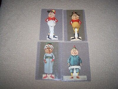 4 Palmer Cox Brownie paper advertising dolls packaged in Lion Coffee lot #3