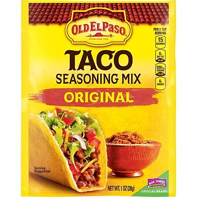 Old El Paso Original Taco Seasoning 1 oz (28g) End of Date 06/19 Clearance Price