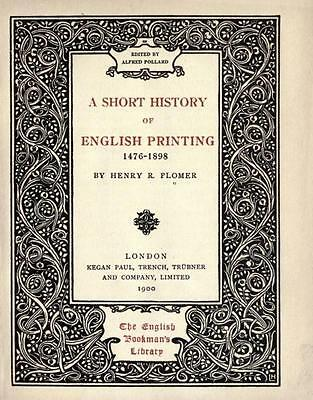 159 Old Printing History Books On Dvd - Early Print Press Caxton Type Fonts Book