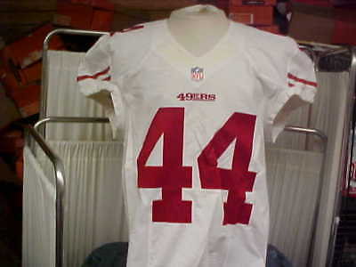 287dad42035 2012 NFL San Francisco 49ers Player  44 Game Team Issued Game Jersey Size 44