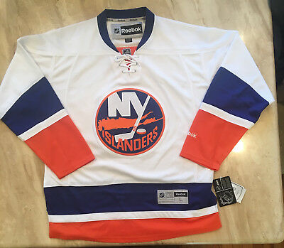 huge selection of 1ab67 caa00 NEW YORK ISLANDERS REEBOK NHL JERSEY White Men's Large