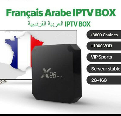 X96 mini Android 7.1 Smart TV Box 2GO/16ROM +12 Mois IPTV PROMO !!!