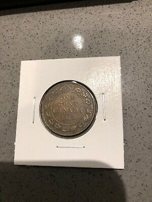 1918 Canada Large Cent Penny Nice!