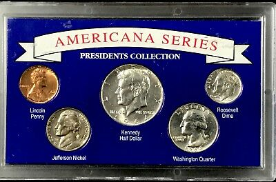 1964~ Americana Series ~5 Coin Set~ Presidents Collection.