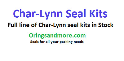 CharLynn J-2 Series Motor Seal Kit CL-60580
