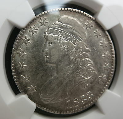 USA 50 cents (Capped bust half dollar) 1833 NGC XF 45