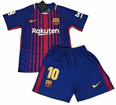 Messi Jersey 2017-2018 - Barca (Youth) Shipped from California USA
