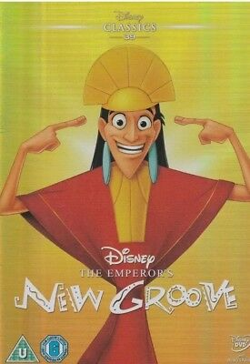 Disney's The Emperor's new groove DVD with classic o ring slipcover NEW Sealed