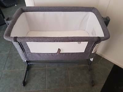 Snuggle Time Co sleeper, Grey, used but in excellent condition, good as new.