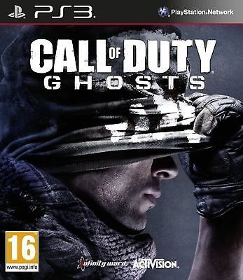 Call Of Duty Ghosts PS3 Game PAL Version New & Sealed Aussie Seller In Stock