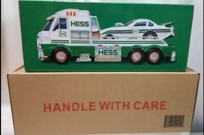 2016 Hess Toy Truck and Dragster Brand New in Original Hess Shipping Package