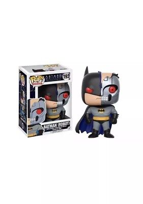 Funko Pop! Batman Animated Series - Batman Robot #193 Vinyl Figure box damaged