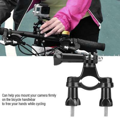 Bicycle Handlebar Action Camera Holder Bracket Bike Grip Mount for Gopro Camera