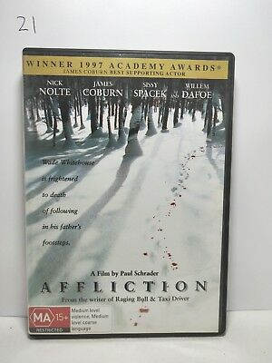 AFFLICTION DVD Region 4 DVD (21).