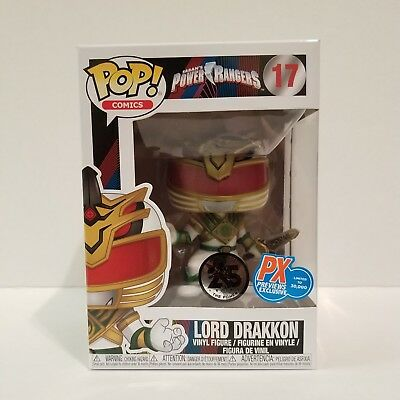Funko Pop - Saban's Power Rangers - Lord Drakkon - PX Previews Exclusive