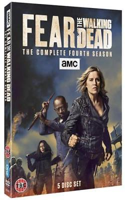 Fear The Walking Dead Season 4 Complete DVD New & Sealed Region 2 UK