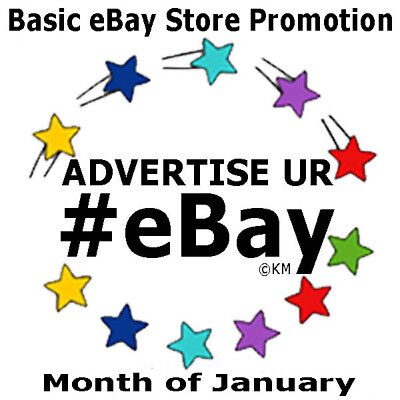 Promote eBay Store JANUARY Feature Pinterest Advertise 43 Pins Weekly