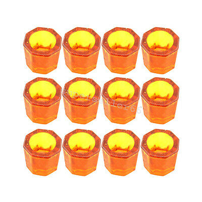 12x Glass dappen dish assorted acrylic container dentistry cosmetology art denta