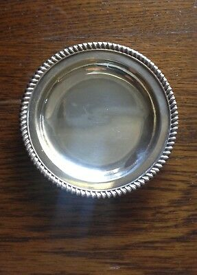 A Japanese K.Uyeda Sterling Silver Dish