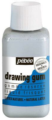 Pebeo Latex Drawing Gum Tinted Masking Fluid for Watercolour Large 250ml Bottle