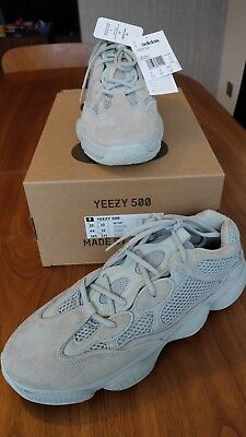 281914705 Limited Edition Rare Yeezy 500 Salt trainers by Kanye West   Adidas UK10