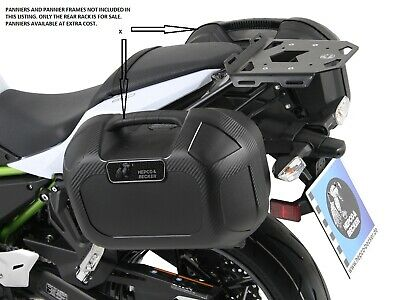 Kawasaki Z650 REAR RACK BY HEPCO AND BECKER MINI-RACK FOR SOFT LUGGAGE 2017on