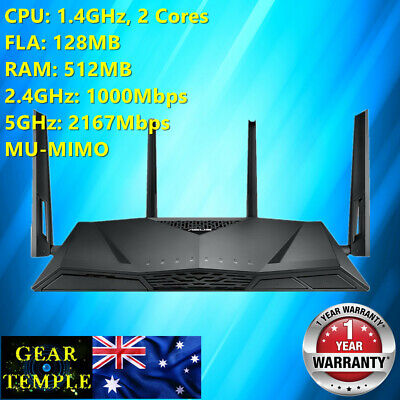 OEM ASUS RT-AC3100 Dual Band Wireless Router WIFI MU-MIMO cheaper than RT-AC88U