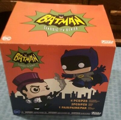 Funko Pop! DC Collectors Box Batman Classic TV Series Batman vs Penguin Target