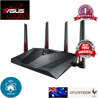 ASUS RT-AC87U AC2400 Gigabit Wireless Router 4x4 MU-MIMO cheaper than RT-AC88U