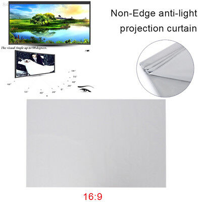 E789 50'' 16:9 HD Projector Screen Foldable Folded Oudoor Home Theater School