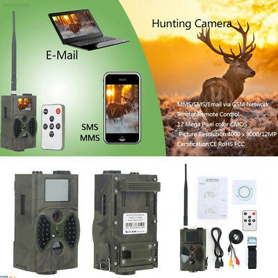 4568 1080P HD IR Infrared 12MP Hunting Video Shoot Camera Cam HC300A Support TF