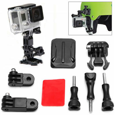 Adjustable Curved Adhesive Helmet Side Mount Holder For GoPro Hero 3 2 1 Camera