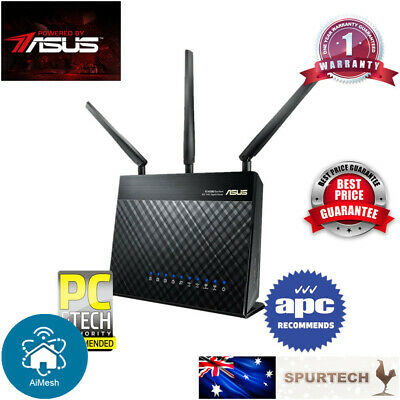 New OEM Asus RT-AC68U AC1900 Dual Band Wireless Gigabit Router AIMESH