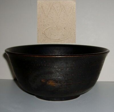 Wally Cole Studio Pottery Bowl - Personal Mark - Rye  Sussex - Walter Cole