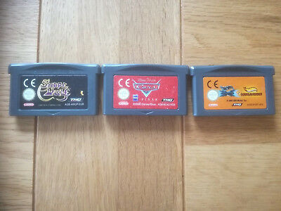 Sabre Wulf + Cars + Hot Wheels World Race + MX2002 4 GBA Spiele Gameboy Advance