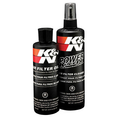 K and N Air FIlter Recharger Kit Oil Cleaner KN K&N Cleaning