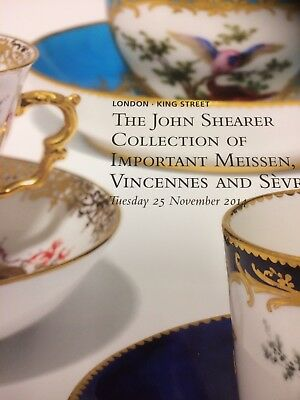 christies auction catalogue The John Shearer Collection Of Important Meissen