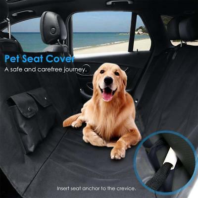Pet Dog Cat Hammock Car Auto Seat Cover SUV Rear Bench Protection Waterproof NEW