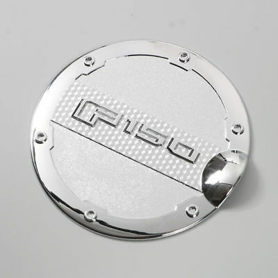Chrome Fuel Tank Oil Cap Door Gas ABS Durable Practical Easy install Brand New