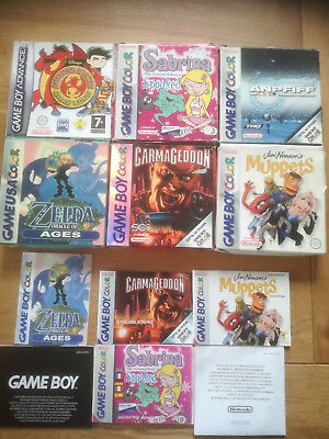 Carmageddon Sabrina Anpfiff Muppets Dragon GBC Gameboy Color - OVP + Anleitung