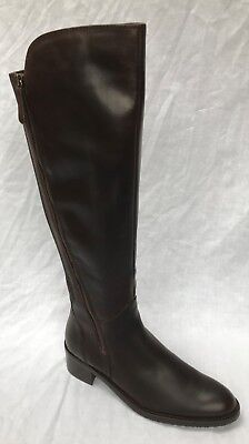 Complejo subtítulo fe  BNIB CLARKS LADIES Valana Melrose Brown Leather Knee Boots - £44.99 |  PicClick UK
