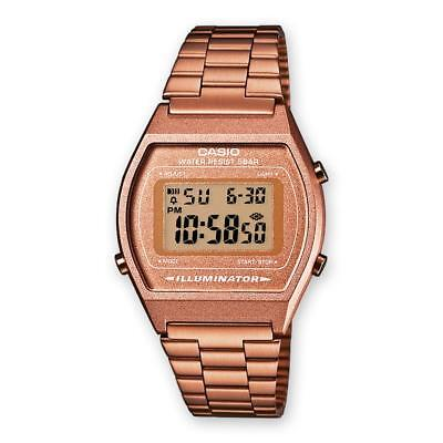Unisex Mens Womens Watch CASIO B640WC-5AEF VINTAGE Classic Rose Steel