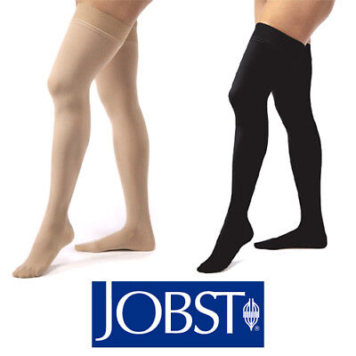 Jobst Medical LegWear Thigh High Compression Stockings with Silicone Dot Band