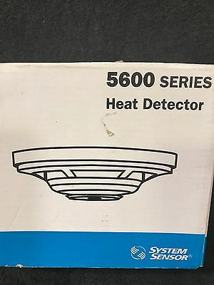 In Box System Sensor 5600 Series Heat Detector 5602***free Shipping***