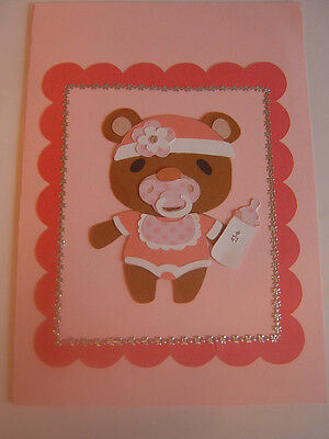 Baby Girl/ Boy Personalised Baby Cards !!!!! 022