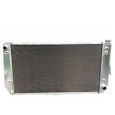 Radiator With Cap For Gmc Chevy Fits Yukon Suburban Pickup Blazer V8 5.7 1694WC