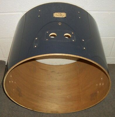 """PEARL EXPORT 22"""" Bass Drum SHELL - 16"""" Deep - Blue Covering"""