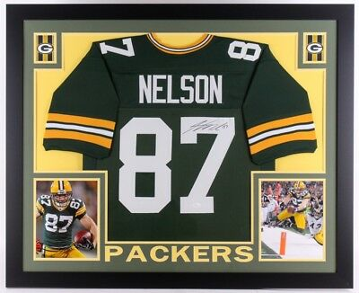 ac983accc74 Jordy Nelson Signed Green Bay Packers 35