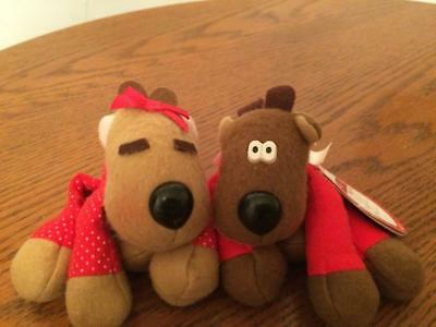 Hallmark Miniatures Ronda and Randy the Reindeer