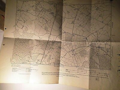 South Stour,Goss Green,Stone Cross:rural Kent Near Ashford:1870-1946 Planner Map